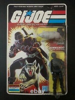 1985 Vintage Hasbro G. I. Joe ARAH V2 Snake-Eyes And Wolf Timber Action Figure MOC