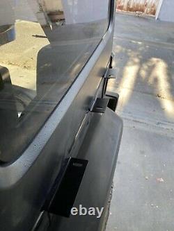 4 Door Roof Rack Cargo Basket Fit 07-18 Jeep Wrangler JK Double ladders No Drill