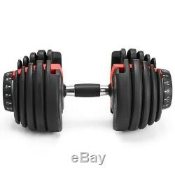 5 52 DUMBBELL SINGLE Adjustable Weight 5 52.5 lb Buy two for a set