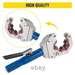 71500 Hydraulic Hose Crimper Tool Kit Hose Fittings Ferrules Crimping Set A/C