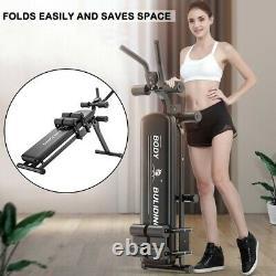 AB Abdominal Exercise Machine Cruncher Trainer Fitness Body Gym Equipment Tuesda