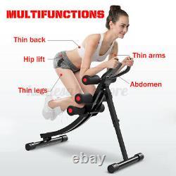 AB Abdominal Exercise Machine Cruncher Trainer Fitness Body shaper Gym Equipment