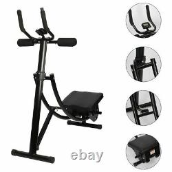 Ab Coaster Abdominal Exercise Machine Abs Crunch Fitness Body Muscle Workout Gym