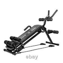 Abdominal Cruncher Sit-up Bench Workout Machine Trainer Body Shaper Exercise Gym