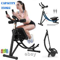 Abs Crunch Abdominal Exercise Machine Ab Coaster Fitness Body Muscle Workout USA