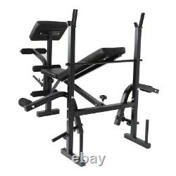 Adjustable Bench Dumbbell Weight Bench Barbell Lifting Home Fitness Foldable GYM