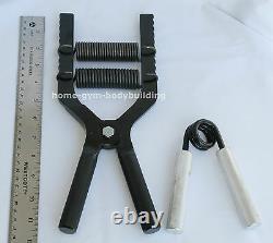 Adjustable Hand Gripper Robert Baraban Black 50/500lbs resistance BUILD GRIP