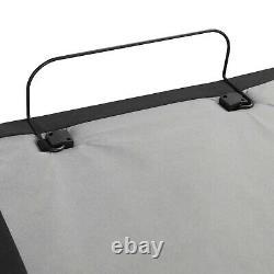 Adjustable Massage Bed Frame Base Wireless Remote USB Ports and LED Light