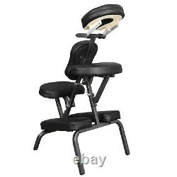 Adjustable Salon SPA Black Massage Chair Tattoo Facial Beauty Carry Bag Included