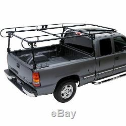 Adjustable Truck Contractor Ladder Rack Pickup Lumber Utility Kayak Rack 1000LBs