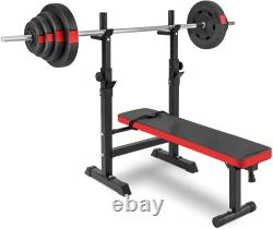Adjustable Weight Bench Incline Decline Foldable Strength Training Workout Gym