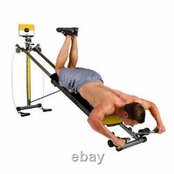 All In One Total Gym XTREME Machine- Cardio, Strength Training, Stretching