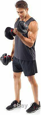 BOWFLEX SelectTech 552 Two Adjustable Dumbbells (Pair) Fast Shipping NEW SEALED
