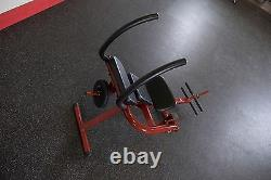 Best Fitness BFAB20 Semi-Recumbent Ab Bench Core Exercise Crunch Gym Machine