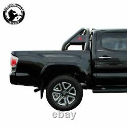Black Horse fits 15-21 TOYOTA Tacoma Black Roll Bar Chase RACK black steel