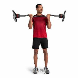 Bowflex SelectTech 2080 Adjustable Full Body Strength System Barbell with Curl Bar