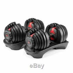 Bowflex SelectTech 552 Adjustable Dumbbell Set (PAIR) BRAND NEW SHIPS TODAY