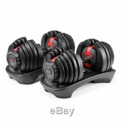 Bowflex SelectTech 552 Pair/ Set Two Adjustable Dumbbells (BRAND NEW)