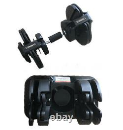 Brand New Retractable Adjustable (Pair) Set Of 2 Dumbbell Weights-FAST FREE SHIP
