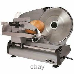 Commercial Blade Electric Meat Slicer Deli Cheese Food Cutter Kitchen Home Tool