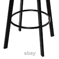 Contemporary Industrial Adjustable Height Indoor 3pc Pub Table with Stools