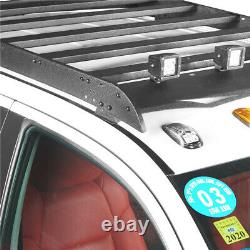 Crewmax Roof Rack Luggage Cargo Carrier withLED Light For Toyota Tundra 2014-2021