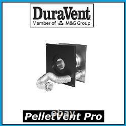 DURAVENT PELLETVENT PRO Pipe 3 Wall Thimble withAir Intake #3PVP-WTI PELLET VENT