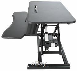Electric Standing Desk Height Adjustable Motorized Sit to Stand Desk Converter