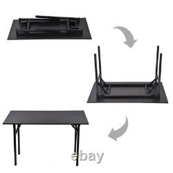 Folding Computer Desk Modern Simple Writing Table For Home Office Study 47 Long