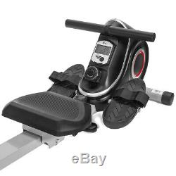 Folding Magnetic Rowing Machine Rower Exercise Cardio Adjustable Resistance Home
