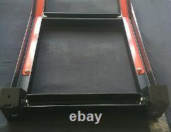 For 10-21 Toyota 4Runner Roof Rack +2 Side Ladders Carbon Steel Black