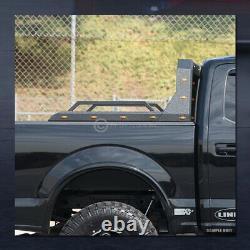 For Pickup Truck Adjusable Chase Rack Roll Bar With Brake Lamp+LED+Amber V2 GOP