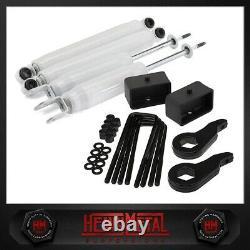 For Silverado 1500 3 Lift Kit + Extended Shocks 1999-2007 4WD Full Front + Rear