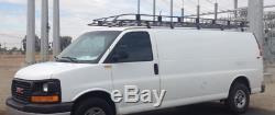 Ford Econoline, Express, Ram Van Roof Rack brackets & ladder camper pack