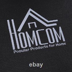 HOMCOM 48 Mini Trampoline Hexagon Bungee Rebounder with Adjustable Handle
