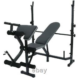 HOME GYM Fitness Dumbbell Weight Bench Barbell Lifting Folding Adjustable Bench