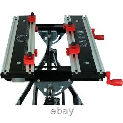Heavy Duty Portable Workmate Folding Tilting Work Bench Stand Height Adjustable