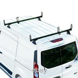 Heavy duty 2 bar black GFY ladder roof rack Fits Ford Transit Connect 2014-on