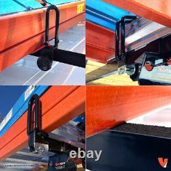 Heavy duty 2 bar black GFY ladder roof rack system Fits Nissan NV200 2013-on