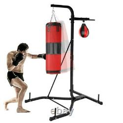 Heavy-duty Boxing Punching Bag Rack Free Standing Boxing Bag For Home Fitness
