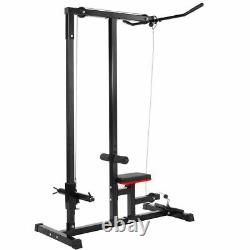 Home Gym Body Lat Pull down Machine Low Row Bar Cable Fitness Weigh Training