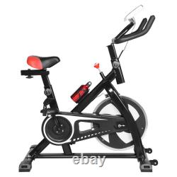 Indoor Cycle Bike Exercise Bike Stationary Bicycle Home Gym Cardio Trainer Pedal