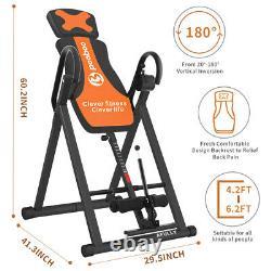 Inversion Table Back Therapy Reflexology Heavy Duty Foldable Stretcher Machine