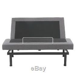 King Size Electric Bed Frame Zero Gravity Massage Remote Power Adjustable Base