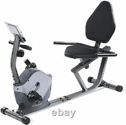 Magnetic Recumbent Exercise Bike Indoor Cycling Stationary Bike Adjustable Seat