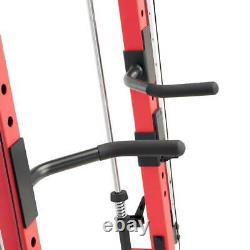 Marcy Smith Machine Cage System Home Gym SM-4033 Pull Up Bar Dips Landmine