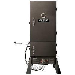 Masterbuilt Pro Propane Smoker Adjustable Air Damper Dual-Wall Wheels