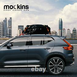 Mockins Roof Rack Rooftop Cargo Carrier with Cargo Bag & Bungee Net 64x39x6