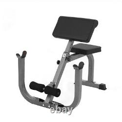 Multi-Functional Adjustable Hyper Extension Bench Roman Chair Dumbbell Bench USA