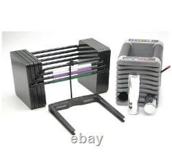 NEW Powerblock Elite EXP 5-50 lbs Adjustable Dumbbell Set Pair 2020 Model